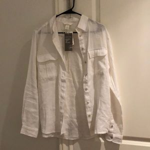 H&M Linen Button Down